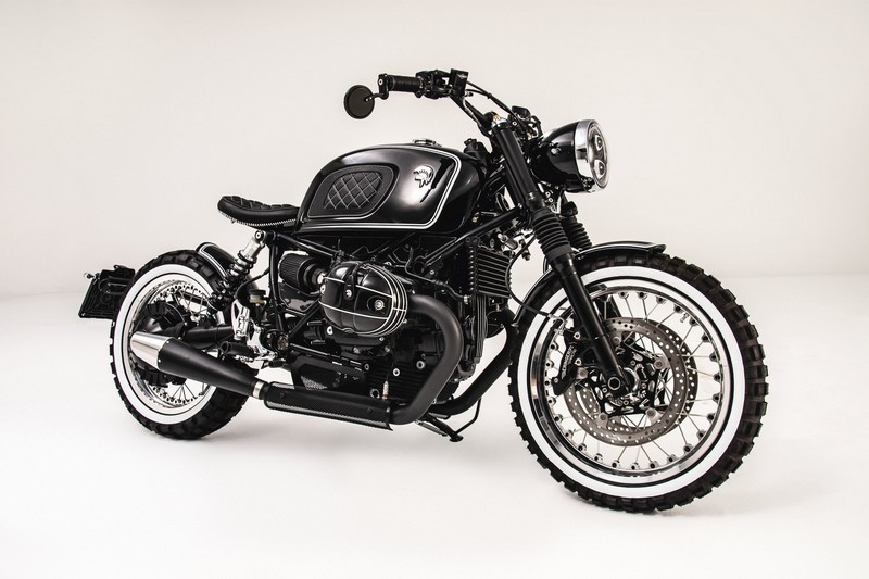 Ares Design for the BMW R nineT motorcycle lateral