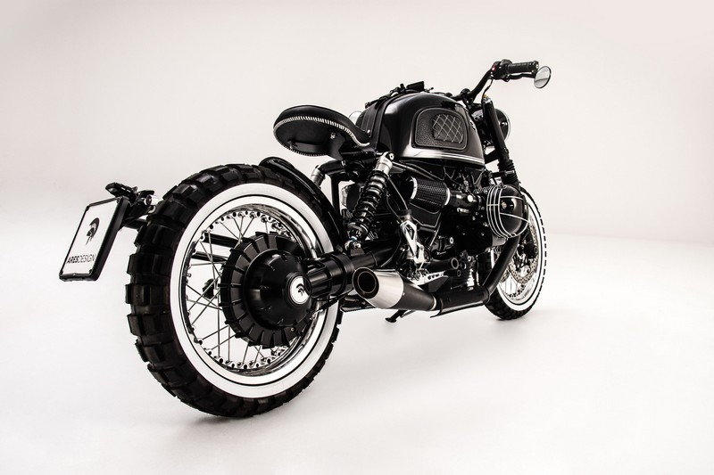 Ares Design for the BMW R nineT motorcycle studio photos