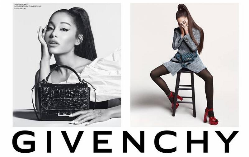 Arivenchy the Givenchy sitting by Ariana Grande