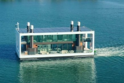 This Next-Generation Floating House Is Perfect for Quarantine in Style