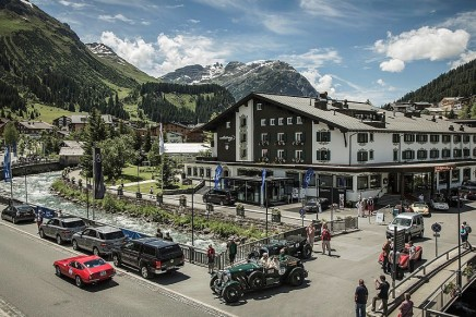 2016 Arlberg Classic Car Rally: 600 km and a beautiful alpine scenery between Tyrol and Bavaria