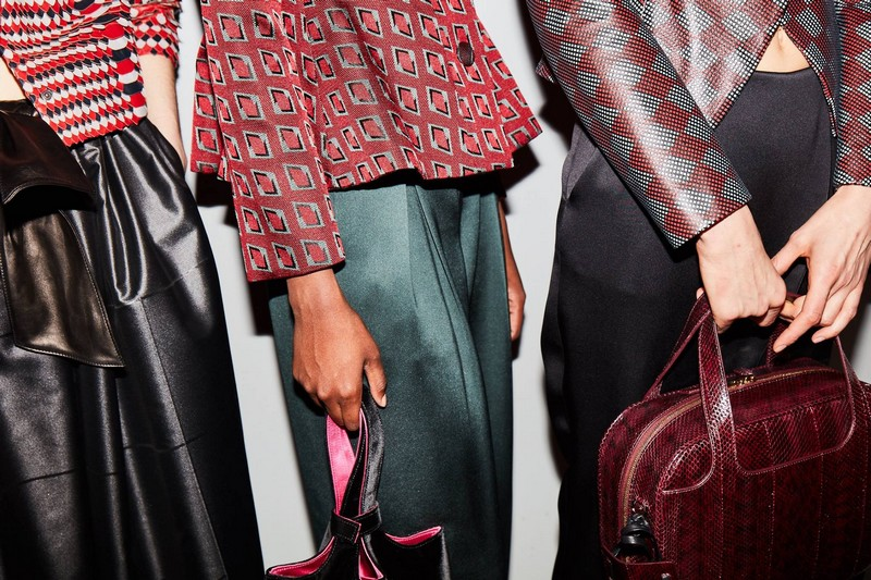 Armani -Details from backstage at the Giorgio Armani Women s Fall Winter 2017-2018 show - Copy