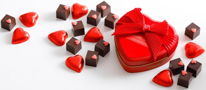 Armani Dolci 2018 treats - Armani Dolci Valentine's Day