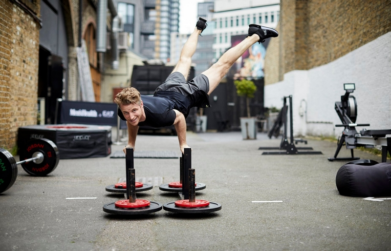 Armani EA7 masterclasses held in collaboration with Men's Health UK, the perfect fit inspiration for a weekend of sport 2019