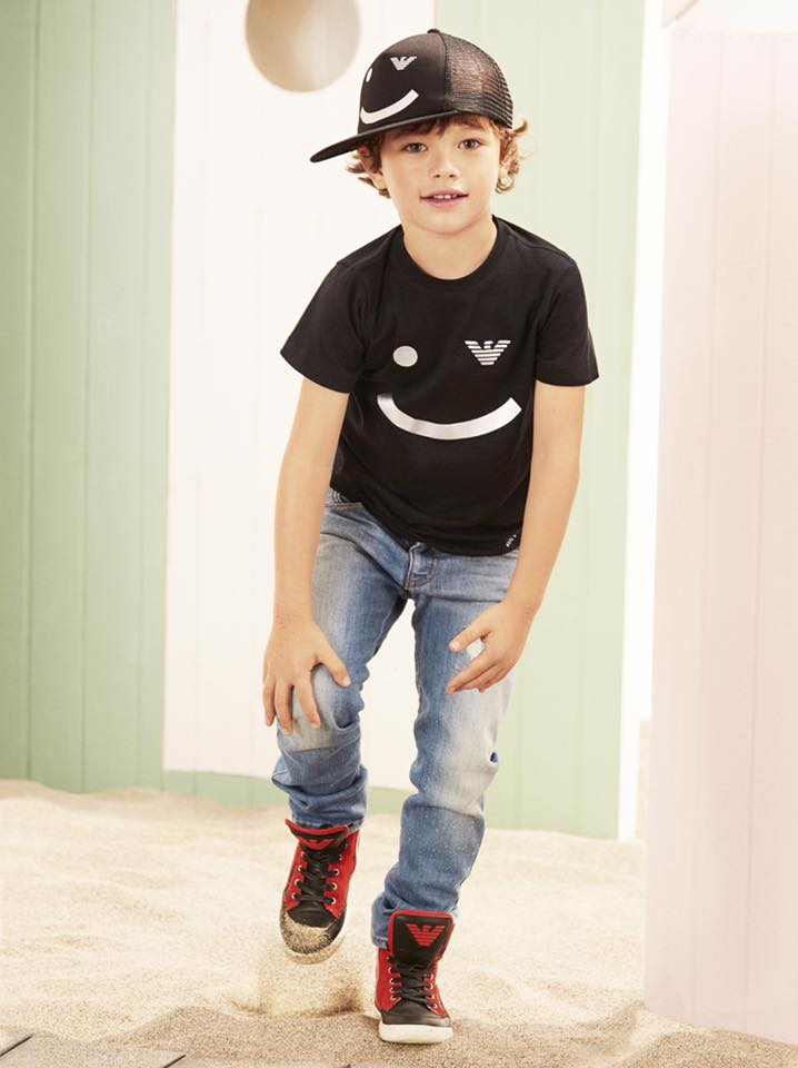 Armani Junior style Spring Summer 2017