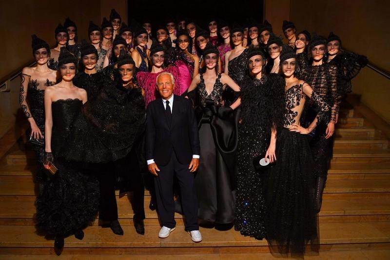 Armani Prive 2017 couture show