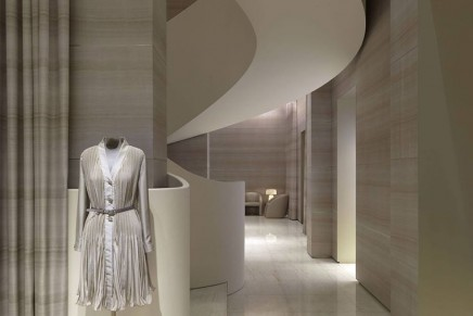 Giorgio Armani is reopening the Milan boutique to coincide with the brand's 40th anniversary
