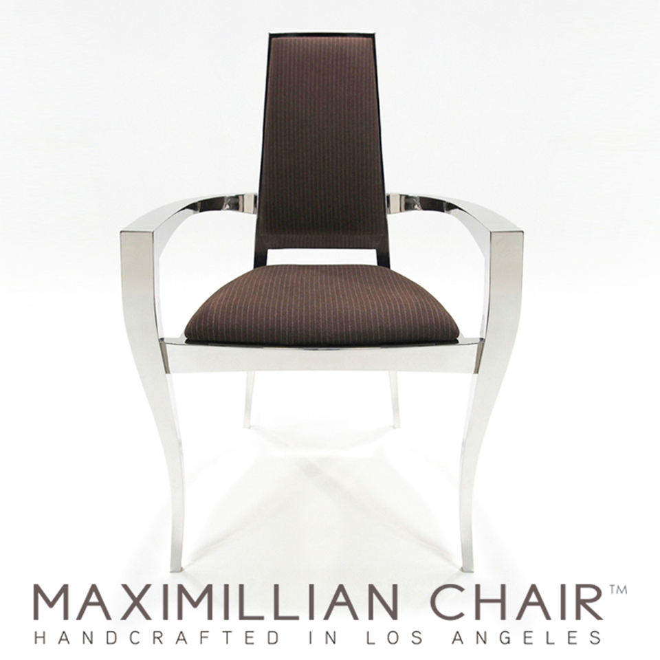 Armen Sevada launches the Maximillian Chair