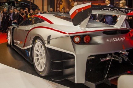Arrinera Hussarya GT – the racing version of the road-going supercar developed in Poland