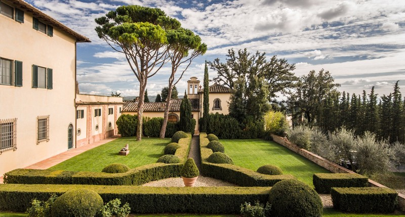 Arriving in the heart of Tuscany - COMO Castello Del Nero, Tuscany