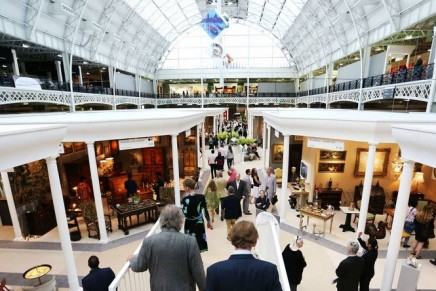 Out with the old, in with the new as antiques fairs bid to survive
