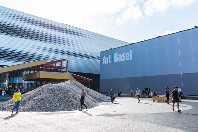 Art Basel in Basel in 2018