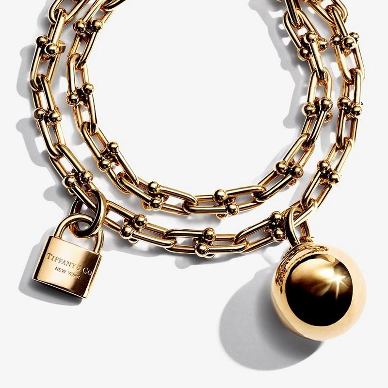 As seen on Lady Gaga -Tiffany HardWear bracelet
