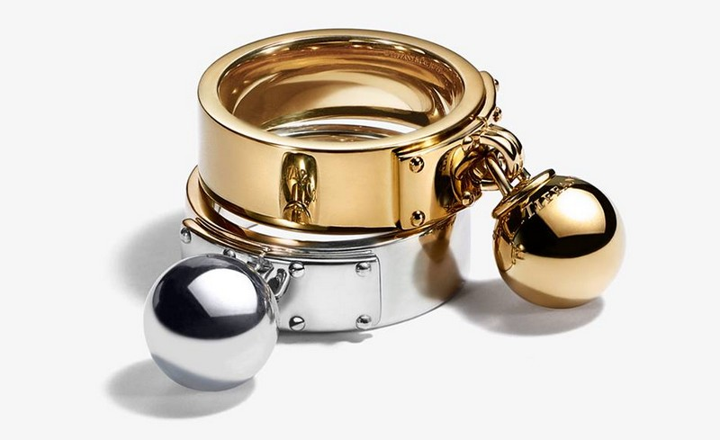 As seen on Lady Gaga -Tiffany HardWear earrings