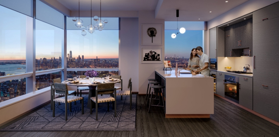 As the tallest building in the borough, Brooklyn Point represents a milestone for Brooklyn - residences