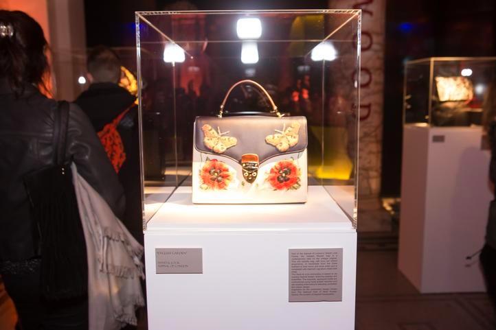 Aspinal of London English Garden Handbag exhibition