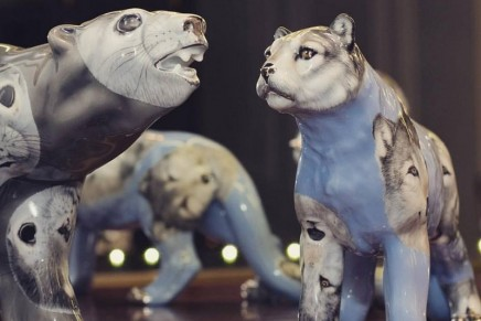 Hand painted animals by Herend for Asprey. The ultimate edition of the Monkey Orchestra