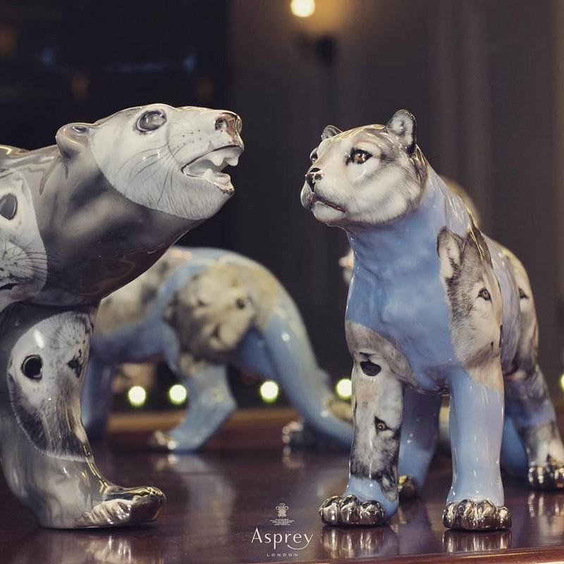 Asprey Polar Bear luxury figurines