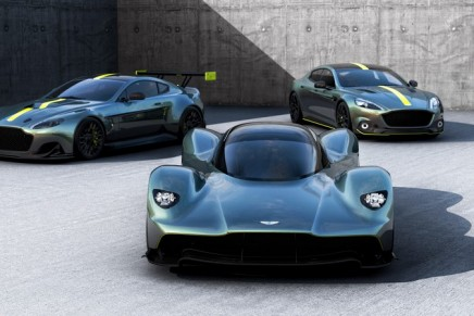 Valkyrie continues a fine tradition of Aston Martin 'V' cars