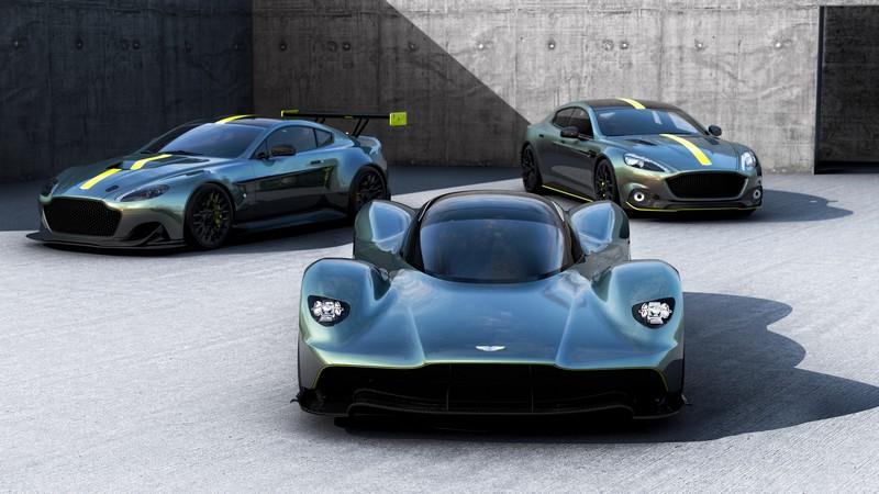Aston Martin AMR concepts presented at 2017 Geneva Motor Show