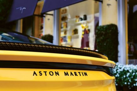 House of Bijan x Aston Martin: A standout one-of-a-kind car befitting of a fashion empire