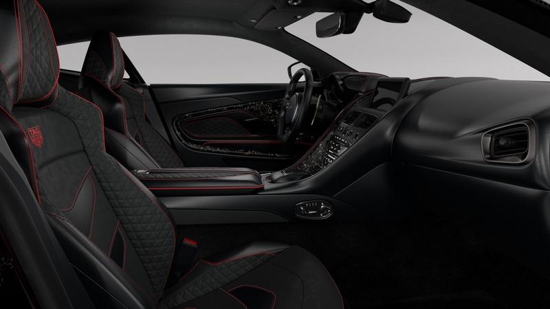 Aston Martin DBS Superleggera TAG Heuer Edition car - interior
