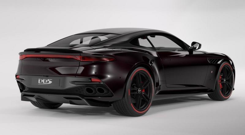 Aston Martin DBS Superleggera TAG Heuer Edition car