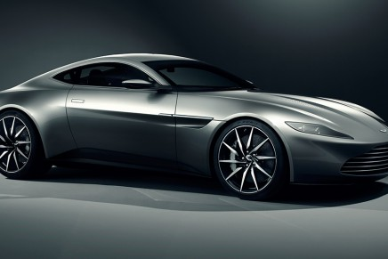 James Bond will once again drive an Aston Martin in Spectre