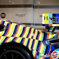 Aston Martin art car 2015 - -24 Hours of Le Mans art Aston Martin designed by Tobias Rehberger