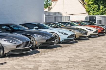 Aston Martin roars back into profit as DB11 revs up sales