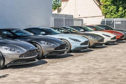 Aston Martin roars back into profit as DB11 revs up sales