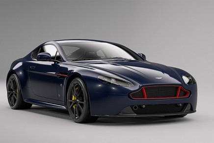 Aston Martin's latest mighty beast: the Vantage S Red Bull Racing Edition