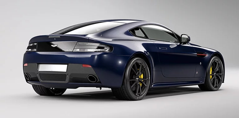 Aston Martin has unveiled its latest additions to the Vantage range-red bull racing team-rear