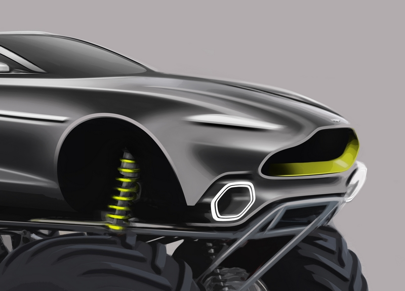 Aston Martin unveils radical plans for monster truck challenger codenamed Project Sparta-