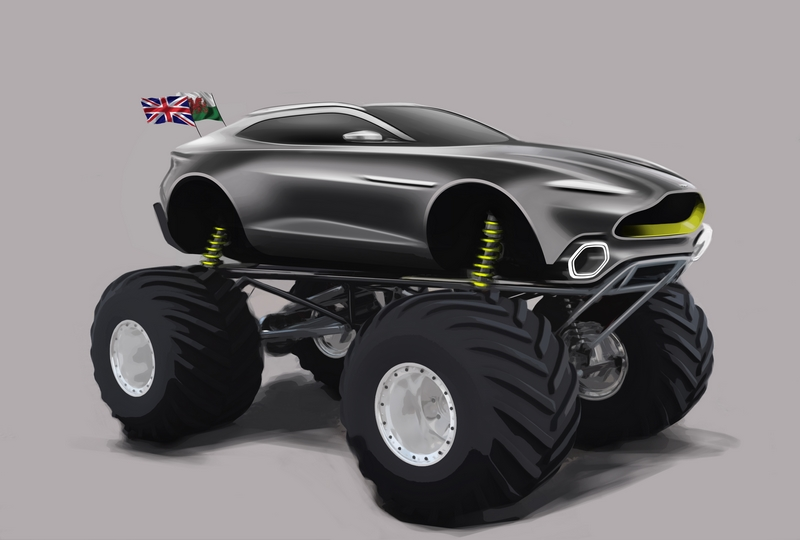 Aston Martin unveils radical plans for monster truck challenger codenamed Project Sparta