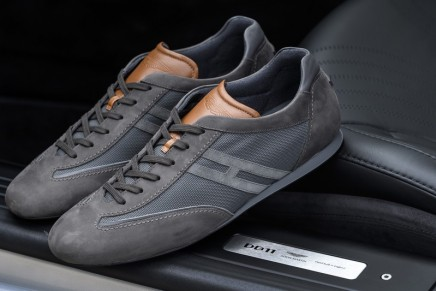 The Ultimate Casual Luxury Shoes Created by Aston Martin and Hogan