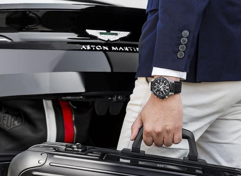 Aston Martin x TAG Heuer Edition collaboration watch