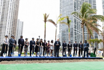 Aston Martin's first real estate project breaks ground in Miami