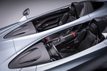 Aston Martin V12 Speedster – the open, uncompromising two-seater layout with only 88 examples