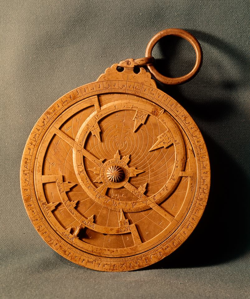 Astrolabe at The Louvre Abu Dhabi Artworks