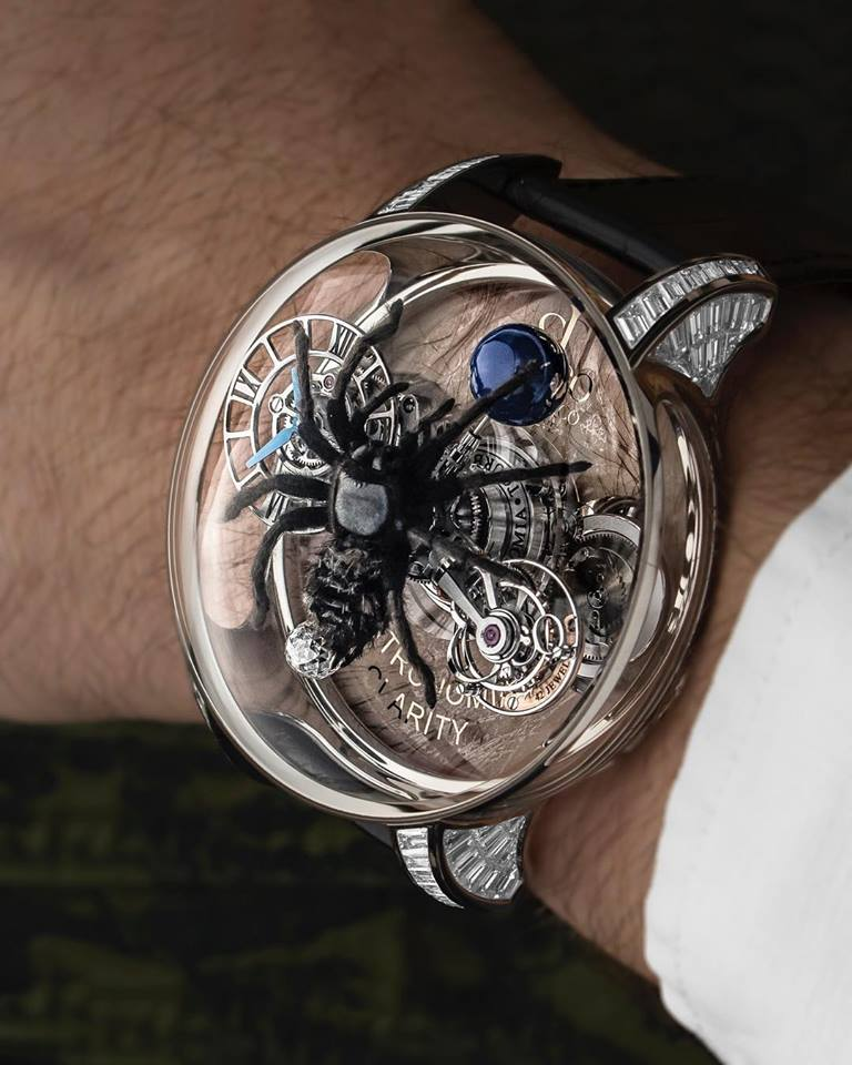 Astronomia Clarity Spider 2018 on the wrist