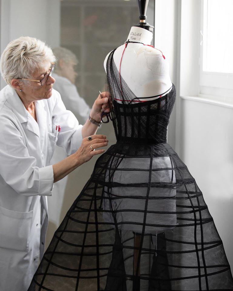 At Dior Paris Montaigne