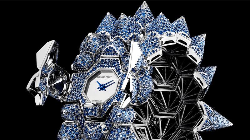 Audemars Piguet Diamond Outrage blue diamond watch