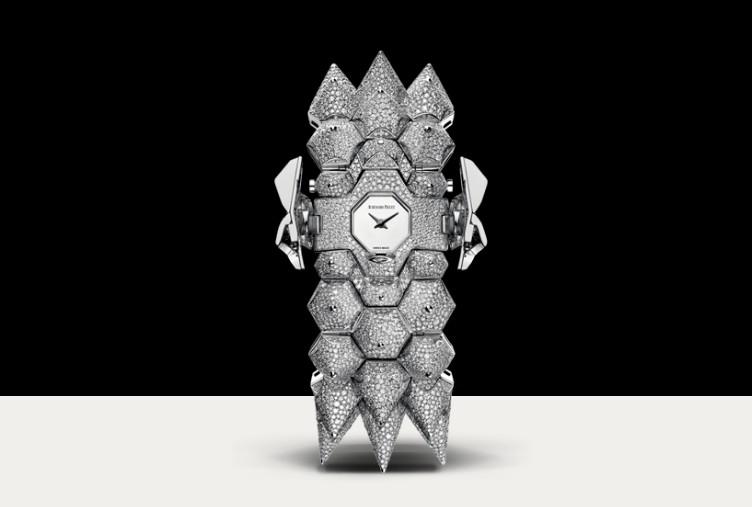 Audemars Piguet Diamond Outrage grey gold diamond watch-