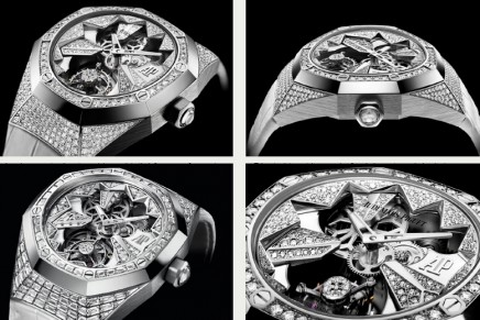 Royal Oak Concept Flying Tourbillon and Millenary Audemars Piguet. Though precious stones have their place, watches for women are  about so much more