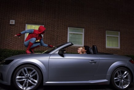 'Spider-Man: Homecoming' marks first appearance of the Audi A8 luxury sedan
