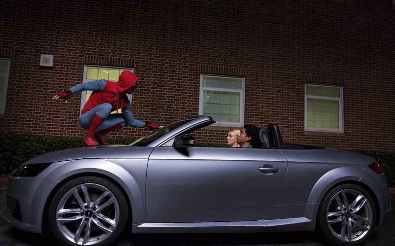 Audi A8 to Make Its Debut in Spider-ManHomecoming - 2017