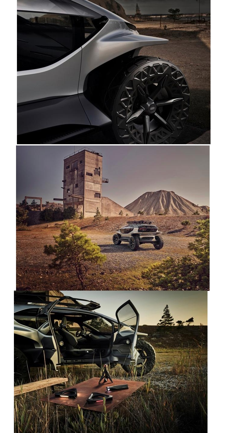 Audi AI Trail Quattro - Emissions-free driving in the great outdoors-2019-01