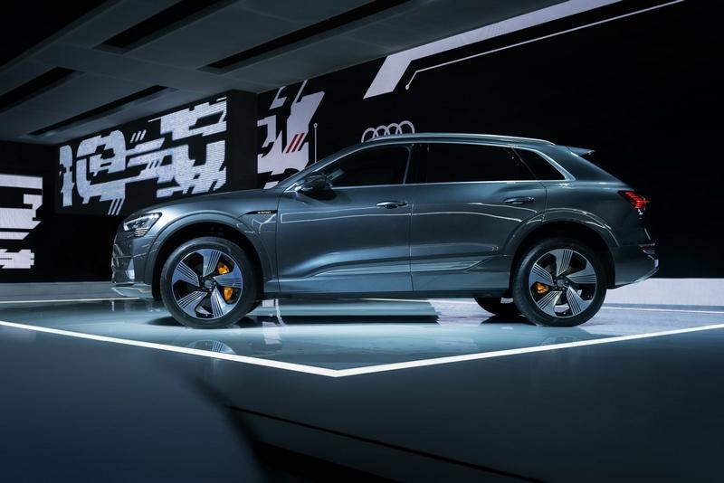Audi e-tron GT concept show car-
