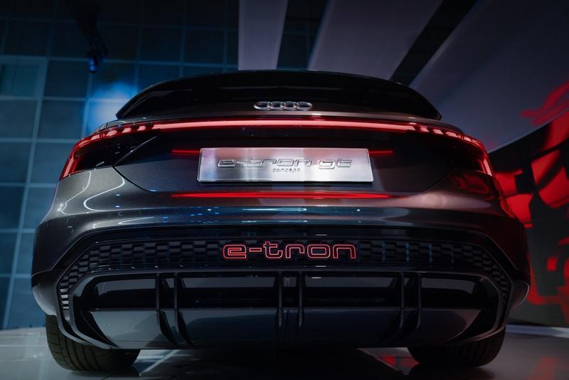 Audi e-tron GT concept show car-2018-03